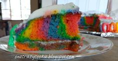 One Crazy Cookie: The Cake of Many Colors