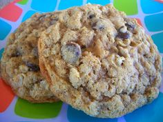 Cooking with Cristine: Whole Wheat Oatmeal Chocolate Chip Cookies