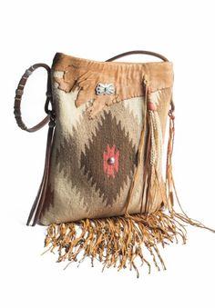 Southwestern Fringe Handbag - Santa Fe Scout Collection