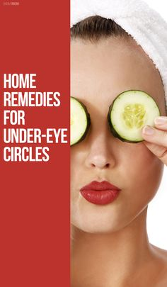 You've got to try these home remedies for under-eye circles for yourself!