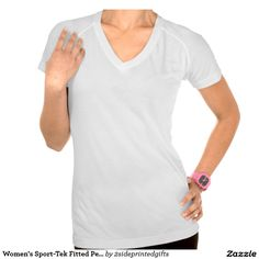 Women's Sport-Tek Fitted Performance V-Neck T-Shirt