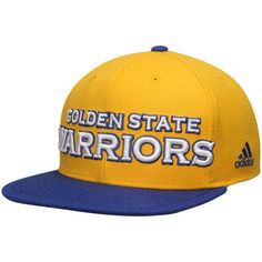 37e3a6affbbc79 Golden State Warriors Cap Flat Brim adidas Snapback Authentic on Court Hat  for sale online | eBay