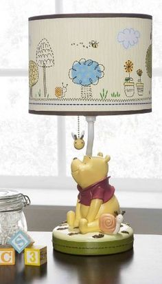 $41.86-$41.86 Baby Disney Friendship Pooh Lamp Base and Shade is a great way to light the room at night for those late night feedings.