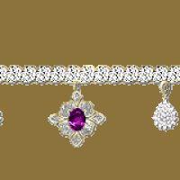 Gold Glitter Dividers | Purple diamond bar photo 372937m2zl4vsgp9.gif