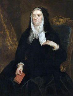"""An Unknown Widow Holding a Book Inscribed 'Dame Bridget Phelips, 1670'"", John Vanderbank, ca. 1723; NT 597912"