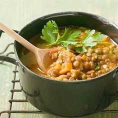 Express Curried Lentils