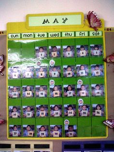 • Cute calendar idea for primary students! ...