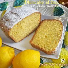 Plumcake al limone con albumi senza burro Blog Profumi Sapori & Fantasia