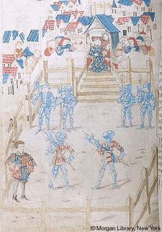 Ordonances of Chivalry, MS M.775 fol. 277v - Images from Medieval and Renaissance Manuscripts - The Morgan Library & Museum