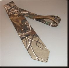 Realtree neck tie camouflage tie Realtree AP camo necktie. $16.50, via Etsy. perfect for my hunters