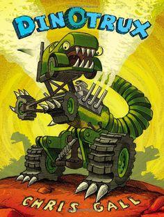 Dinotrux book by Chris Gall