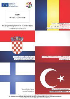Carte Design - Proiect Comenius - Coperta spate - CoMas Advertising