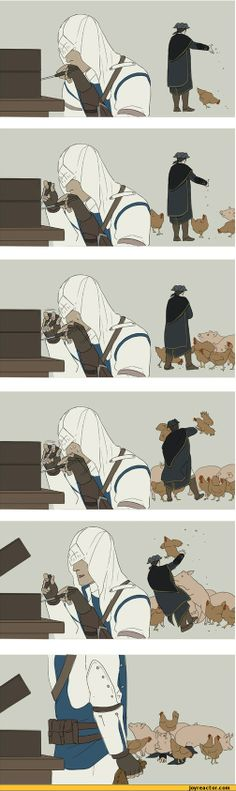 assassin's creed funny | comics / funny comics & strips, cartoons, assassin's creed animals ...