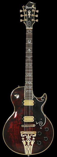 1976 Ibanez Custom Agent Artist 2405 #vintage #guitar #IbanezGuitars #vintageguitars