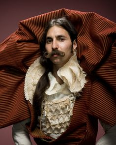 Alexander of Los Angeles, California by David Mead: portraits from the 2009 world beard and mustache championship/