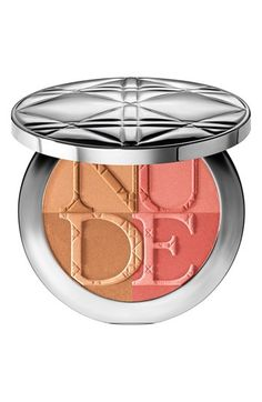 Dior Nude Tan Paradise Blush & Bronzer Duo available at #Nordstrom kind of pricey but i heard this STAYS on.
