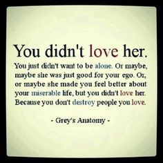 people who really loves someone dont use and dont lie... sad to see when that happens, once you are no longer useful they just say they dont love you anymore... sad isn't