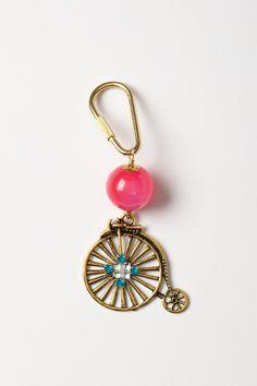 Love this charm!    Brass Bike Keychain - Anthropologie.com