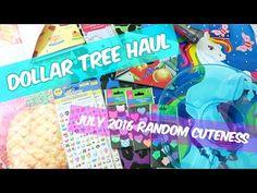 Dollar Tree Haul ☀ July 2016 ☀ Random Cuteness - http://www.carryhaulwell.com/2016/07/dollar-tree-haul-%e2%98%80-july-2016-%e2%98%80-random-cuteness/ - 2016, cute, dollar, dollar tree, dollar tree haul, july, summer, video, youtube