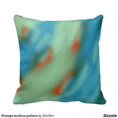 Strange modern pattern throw pillows