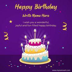 Advance Happy Birthday Wishes, Happy Birthday Alan, Happy Birthday Cake Writing, Birthday Cake Write Name, Birthday Wishes With Name, Happy Birthday Cake Images, Happy Birthday Wishes Images, Happy Belated Birthday, Happy Birthday Greeting Card