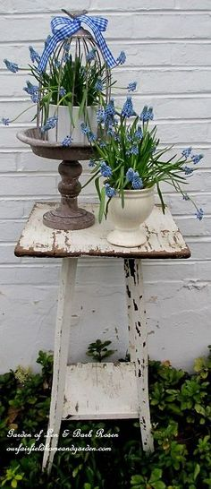 A little old table for my florals