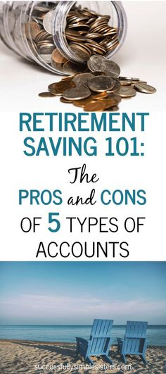 Have you considered saving in a retirement vehicle but it's too confusing and complicated? Read as we break down five different retirement investment options (traditional roth ira, taxable investments, and more) and the pros and cons of each. Retirement Savings Plan, Investing For Retirement, Retirement Accounts, Early Retirement, Investing Money, Retirement Planning, Financial Planning, Financial Tips, Financial Peace