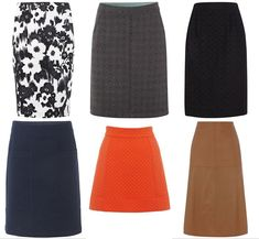 Skirts for Pear Shape