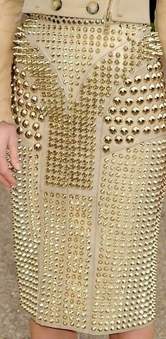 Studded. Spiked. Gilded.