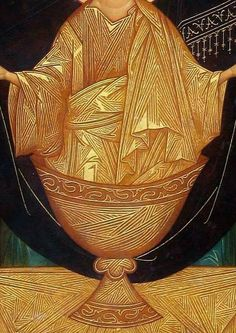 Caliz Gold Leaf Art, Beauty Art, Orthodox Icons, Byzantine Art, Paint Icon, High Art, Christian Art, Art Icon, Sacred Art
