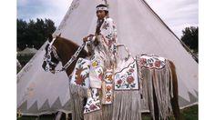 Pauline Phillips (Yakama), c. Thompson photo, Maryhill Museum of Art, Native American Wedding, Native American Horses, Native American Flute, Native American Beauty, American Indian Art, Native American History, Native Beadwork, Native American Beadwork, Native Indian