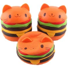 Cat Toys For Kids - WoodBury Perfumed Squishies Slow Rising Flavor Squishy Toy Jumbo Stress Relief Decompression Squeeze Kids Simulation Toys Burger * Check out the image by visiting the link. (This is an affiliate link) #CatToysForKids