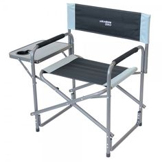 Yellowstone Director Chair With Side Table. Extra Wide Seat. Cup Holder  With Handle Slot