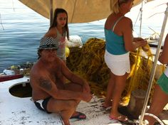 Dimitris Greek  fisherman