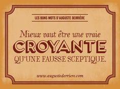 Auguste Derrière #Poster #Affiche