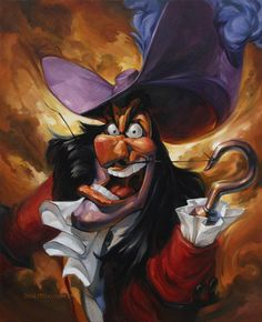 Captain Hook..............angry? why would you say that?