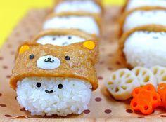 kawaii bento box (> v <) Kawaii Bento, Bento Recipes, Candy Recipes, Easy Root Vegetables, Cute Food, Yummy Food, Japanese Food Art, Japanese Candy, Cute Bento Boxes