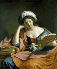 Guercino The Persian Sibyl