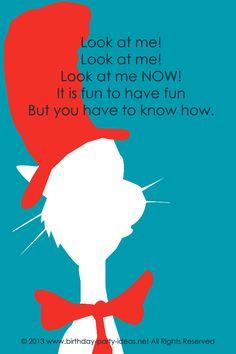 Cat in the Hat Birth