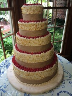 Wedding Cake by Zoe's