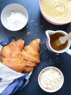 Croissants aux amandes maison Recette