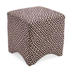 Living Room furniture - Marisa Graphic Ottoman - Purple, $196.50 (http://www.sarahbarah.com/marisa-graphic-ottoman-purple/)