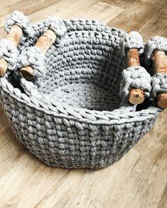 nesting crochet basket pattern, crochet pattern basket