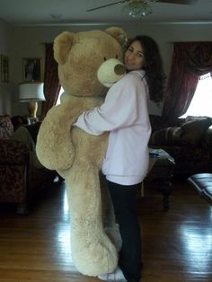 Giant teddy bear. The only thing I will ever be disappointed about if never get from my boyfriend/husband.