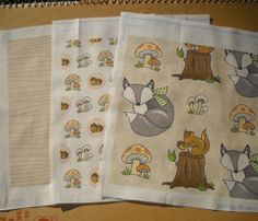 woodland friend nursery theme fabrics
