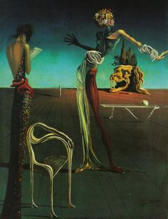 Salvador Dali...I have never seen this one...I would say it's unique and interesting but that describes all his work..lol..so it's my fave..how about that?