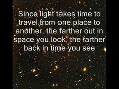 Time travel for your eyes?