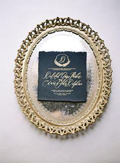 Elegant Old World Wedding Inspiration | Wedding Sparrow