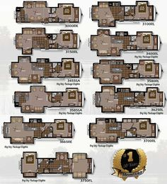 Montana Fifth Wheel Rv Floor Plans