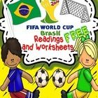 Soccer World Cup offers us a good opportunity to engage students in several language learning activities.  FREE